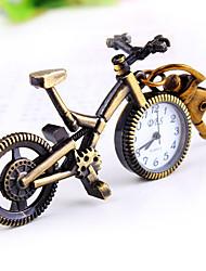 ocio forma bicicleta reloj llavero esfera redonda de las mujeres