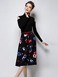 O  M  G  Women's New Korean Fashion Lace Long Sleeve Bottoming T-shirt