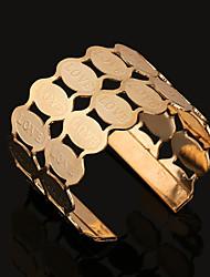 Hot Oval Phase Alloy Bracelet