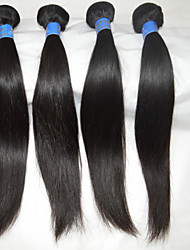 """4 Pcs/Lot 10""""-28""""  Brazilian Hair Natural Straight Hot Sales Real Hair Extensions Sexy Hair Body Wave Unprocessed Wig"""