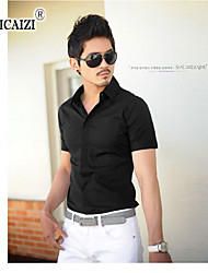 SPCZ® Men's Classic Pure Color Short Sleeve Shirt 8 color