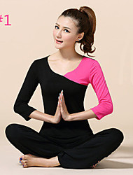 Yoga Clothes Suit 2015 Spring New Female Yoga Clothes Dance Clothes Fitness+10119