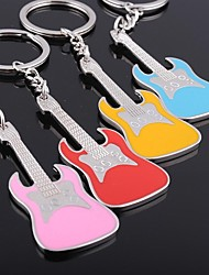 Personalized customization Guitar Musical Instrument New Key Buckle(Random Colors)