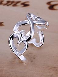 он образовал 925 серебряные ювелирные изделия торговли продажи изысканные кольца
