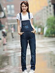 Women's Cowboy Show Thin Straps Slacks Jeans