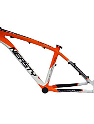"Neasty Brand MB-NT02 Full Carbon Fiber MTB Frame Orange white Color 26er Frame 15""/17"""