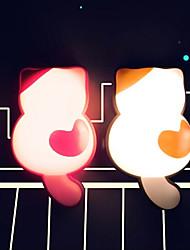 Сенсор/Дистанционно управляемый - Ночные светильники/Декоративное освещение - Теплый белый - AC - 0.5 - ( W ) - AC 220 - ( V )