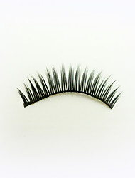 1 Pairs Black High-class Fiber False Eyelashes