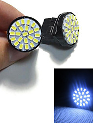 6W T20 Luces Decorativas 22 SMD 3528 55 lm Blanco Fresco Decorativa DC 12 V 1 pieza