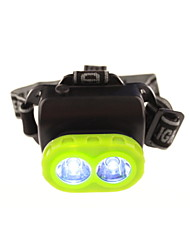 verde la luz de la lámpara 3w pesca de la noche al aire libre para la lámpara del faro de la bicicleta de minero