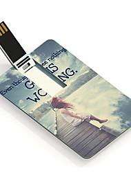 8gb deus está trabalhando unidade flash USB Cartão do projeto