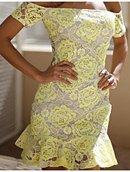 CYAY  Women's Fashion Charm Off The Shoulder Dress