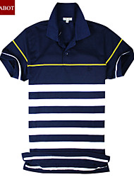 John cabot 2015 brand Fashion Polo shirt Stripes logo men short sleeve casual dress world famous Man's Polo shirts