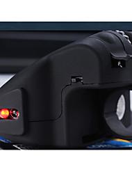 usb Geyes gm306 2.0 2.4ghz ratón óptico dedo led - negro