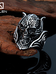 Kalen Men's Jewelry New Style Custom Stainless Steel Skull Rings