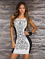 Vestidos ( Blanco , Poliéster/Licra , Desempeño/Ropa de Noche ) - Desempeño/Ropa de Noche - para Mujer