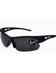 100% UV400 Men's Anti-Reflective Wrap Sunglasses