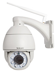 Sricam® PTZ IP Camera 720P Waterproof Day Night IR-cut Wireless P2P