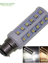 B22 9W 48x5050SMD 900LM 3500K 6000K  Warm White/Cool White Light LED Corn Bulb AC85-265V