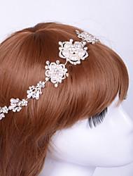 Women Alloy Headbands With Imitation Pearl/Rhinestone Wedding/Party Headpiece
