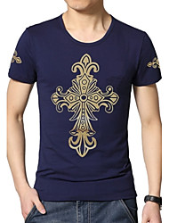 Men's Fashion Printing T-Shirt