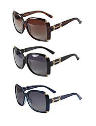 3 PCS LianSan 100% UV Polarized Women's Oversized Sunglasses