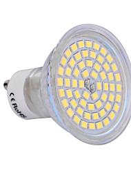 6W GU10 Spot LED 60 SMD 2835 540 lm Blanc Chaud / Blanc Froid AC 100-240 V 1 pièce