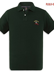 U&Shark Men's Fine Cotton Short Sleeve Polo Shirt/polo-034