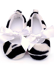 Baby Shoes Wedding/Outdoor/Dress/Casual Fleece Flats Black