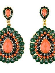 Jassick Women's Fashion  High Quality Rhinestone Earrings