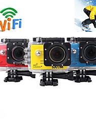 Ambarella sj5000plus cmos wifi hd 1080p 60fps impermeabile di sport d'azione videocamera Helmet Camera