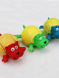 Dogs / Cats Toys Chew Toy / Squeaking Toy Lion Rubber