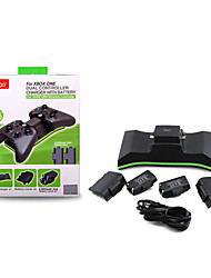 2 PCS Rechargeable USB Batteries & Stand Chargers/Cable & Adapters(5 in 1) for Xbox One