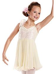 Ballet Dance Dancewear Adults' Children's Sequin Lyrical Dress Kids Dance Costumes