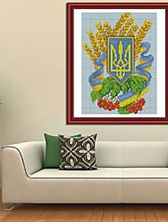 ícone kits de ucrânia ponto-cruz diamante sala bordado ponto cruz parede de decoração para casa 28 * 18 centímetros
