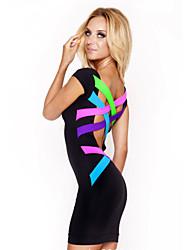 Vestidos ( Multicolor , Poliéster/Licra , Desempeño/Ropa de Noche ) - Desempeño/Ropa de Noche - para Mujer