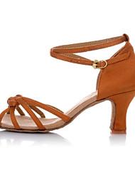 Non Customizable Women's/Kids' Dance Shoes Latin Low Heel