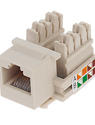Ampère module réseau 8-406375-1 de cat.5e - beige