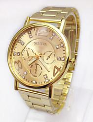 Watch Men's/Women's Steel Quartz Wrist Watch