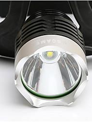 xml T6 chutes de longa distância à prova d'água recarregável farol brilho faróis LED luzes de pesca luzes de bicicleta