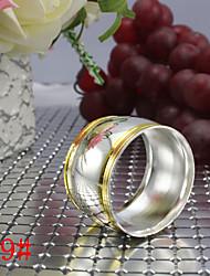 6pcs Drum-shaped Copper Napkin Ring