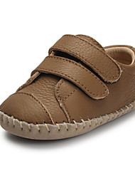 Baby Shoes Casual Calf Hair Oxfords Tan