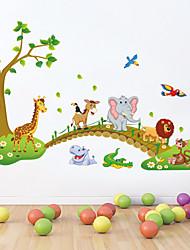 adesivi murali stickers murali, animali autoadesivi della parete del PVC