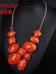 Korean fashion jewelry alloy item jewels retro necklace female temperament banquet