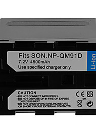 4500mAh Camera Battery Pack for SONY NP-QM91D