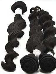 """4pcs lot 10 """"-28"""" peruano extensiones de cabello humano de grado 6a larga remy armadura virginal mujeres atractivas al por mayor del pelo"""