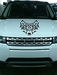 Car Stickers with The Head of Wolf Car Styling