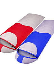 Tripolar Windproof/KEEP WARM/Cold Weather Duckdown Sleeping Bag Red/Blue FA2929X