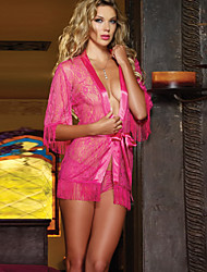 Mujer Poliéster Batas y Zapatillas/Pijama Camisones/Camisetas