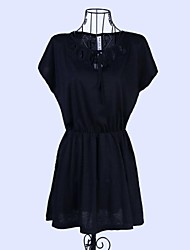 Women's Clothing Collar OL Cultivate One's Morality Dress